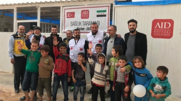 AID Konya, İdlib ve Halep'te sağlık taraması yaptı