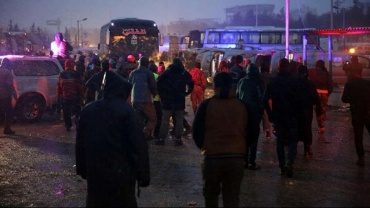 AID acil yardım ekipleri Halep'te sıfır noktasında