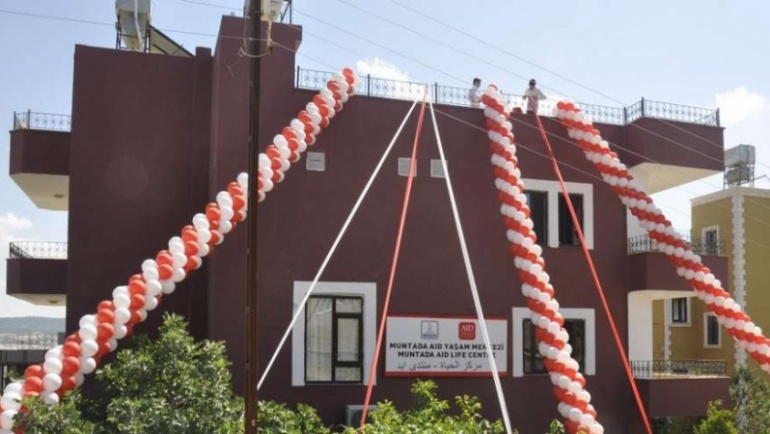 Suriyeli Engelli Çocuklar İçin Yaşam Merkezi Açıldı