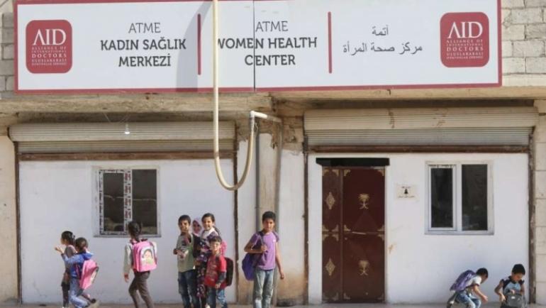 Savaşın kadınları için Atme Kadın Sağlık Merkezi'ni açtık