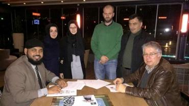 AID ve Muntada Aid Suriyeli çocuklara birlikte destek olacak