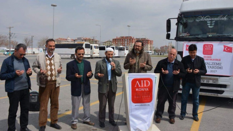 AID'den Suriye'ye sağlık tırı