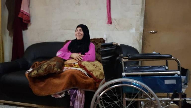 Meryem Teyzemizin tekerlekli sandalyesini teslim ettik