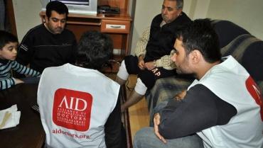 Suriyeli Mültecilere Sağlık Taraması