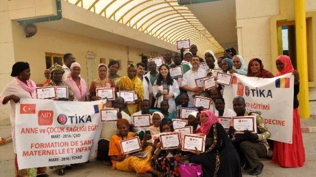 AID, Çad'ta Sağlık Personeline Eğitim verdi