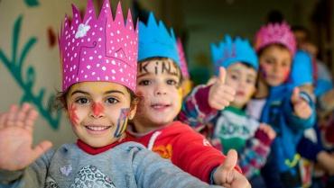 Suriye'nin çocuklarına zeytin dalı