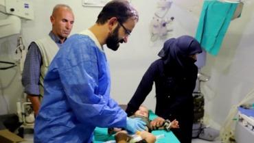 Suriyeli çocukların sünnet operasyonu gerçekleştirdi