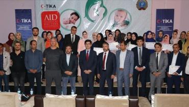 TİKA'nın katkılarıyla Afgan sağlıkçılara eğitim verdik