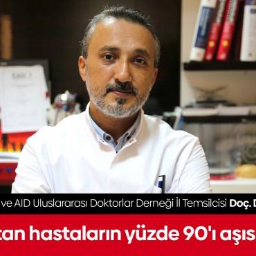 """Uzmanından vaka sayısı artan Diyarbakır'da """"aşı yaptırın"""" çağrısı"""